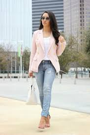 light pink blazer womens what to wear with a light pink blazer professional standards councils