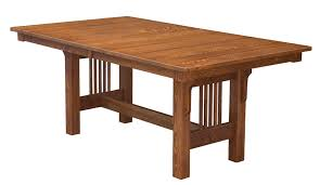 Mission Dining Room Set by Mission Trestle Table 42