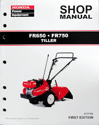 honda fr650 fr750 tiller service repair shop manual