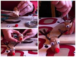 how to christmas decorations diy upcycle old corks to make cute