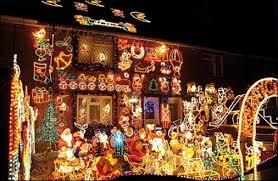 crazy christmas tree lights holiday season lights up natale merry and lights