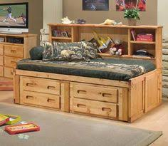 explorer ginger bookcase captains bed twin size made from real