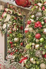 36 best christmas trees royal red and gold theme by show me