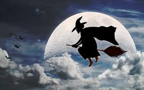 halloween cartoons background halloween witch cartoon 6940596