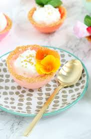 edible chocolate cups to buy a kailo chic make it pastel and gold edible dessert bowls