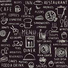 seamless pattern food vector seamless pattern background with hand drawn food drink and