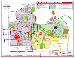 alabama zone map ua homecoming routes parking alabama gameday al com