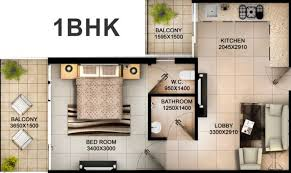 600 sq ft apartment floor plan 600 sq ft 1 bhk 1t apartment for sale in tulsiani builders easy in