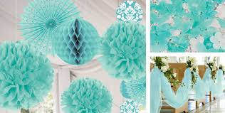 wedding decoration supplies robin s egg blue wedding decorations party city party