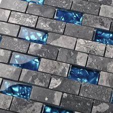 Stone Tile Kitchen Backsplash by Ocean Blue Glass Nature Stone Tile Kitchen Backsplash 3d Bath