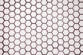 laundry room diy hex tile flooring