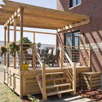 Deck Plans With Pergola by Best 25 Wooden Pergola Ideas On Pinterest Pergola Shade Covers