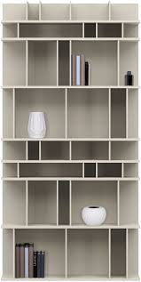Large White Bookcase by Furniture Home Modrest Maze Modern White High Gloss Bookcase