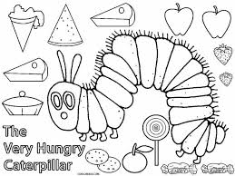 hungry caterpillar coloring book the official eric carle web site