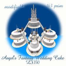 second life marketplace fantasy wedding cake boxed