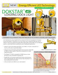 led loading dock lights dokstar led loading dock light hubbell industrial lighting pdf