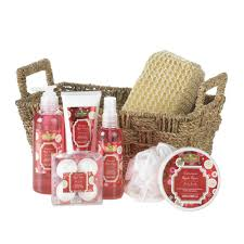Bathroom Gift Basket Apple Spice Spa Gift Basket Set For Her Bath Body Relaxation Kit