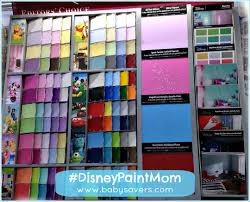 decorating a bedroom for a boy and a with disney glidden paint