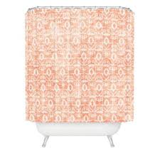 Pink And Orange Shower Curtain Buy Orange Shower Curtain From Bed Bath U0026 Beyond