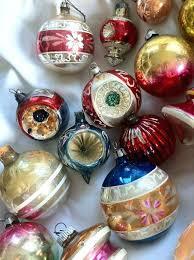 fashioned glass tree ornaments fashioned glass