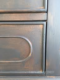 how to make cabinets look distressed easy distressing furniture technique for a look