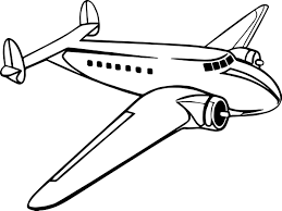 octonauts coloring pages luxury older propeller passenger airplane