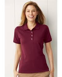 jerzees spotshield women u0027s jersey sport shirt 437wr