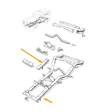 front chassis leg repair section l h 26