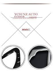 triton mitsubishi logo black front lights cover for mitsubishi l200 triton accessories