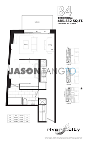 500 Sq Ft Apartment Floor Plan by River City 47 Lower River 51 Trolley Toronto Condos Lofts