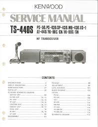 kenwood ts 440s service manual documents