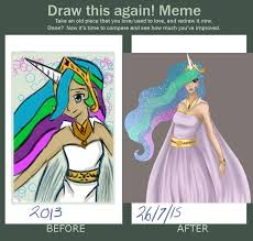 Princess Celestia Meme - princess celestia before and after by phantomtsubasa on deviantart
