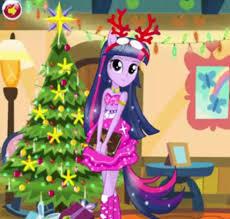 twilight sparkle christmas prep u2013 best my pony games for