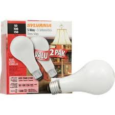 Sylvania Light Sylvania Incandescent Soft White 3 Way Lamp A21 Medium Base 120v