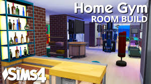 the sims 4 room build home gym youtube