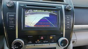 toyota display audio entune backup camera kit camry corolla