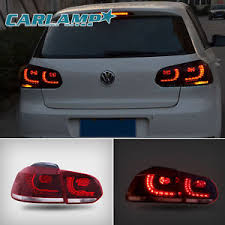 vw led tail lights led tail lights for volkswagen vw 2008 2013 golf 6 gti mk6 red clear