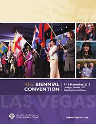 43rd biennial convention program by honor society of nursing