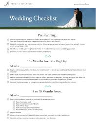Wedding Decor Checklist Congenial Free Printable Wedding Checklist Worksheets Photos S