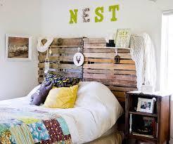 Wood Pallet Headboard 30 Rustic Wood Headboard Diy Ideas Hative