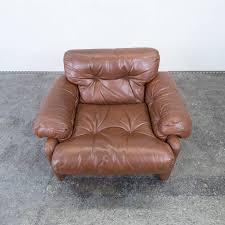 Vintage Brown Leather Armchair C U0026b Italia Coronado Fine Leather Armchair By Tobia Scarpa Couch