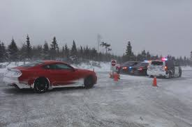 2015 Mustang V6 Black 2015 Ford Mustang Ecoboost Snow And Winter Driving Review Fordnxt