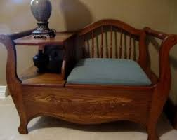 Antique Wood Benches Sale by 259 Best Vintage Telephone Tables Images On Pinterest Vintage