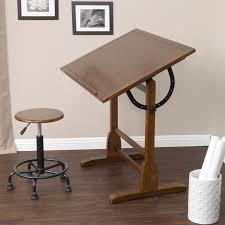 Vintage Drafting Tables Studio Designs 36 Vintage Drafting Table Color Rustic Oak 13304