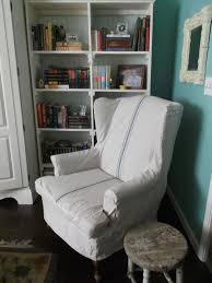 white wing chair slipcover furniture charming armback chair with white wingback chair