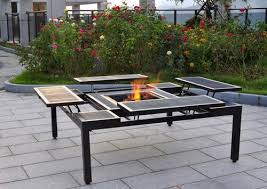 Firepit Table Amazing Design Firepit Table Sweet Adjustable Pit Table At