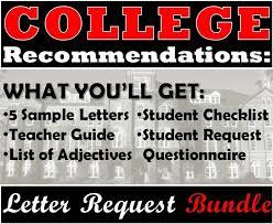 best 25 college recommendation letter ideas on pinterest