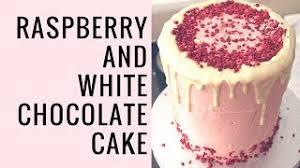 white chocolate raspberry cake kren biz