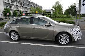 opel indonesia spyshots opel insignia facelift loses some camo autoevolution