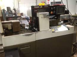 citizen l16 vi cnc swiss style automatic lathe s u0026m machinery